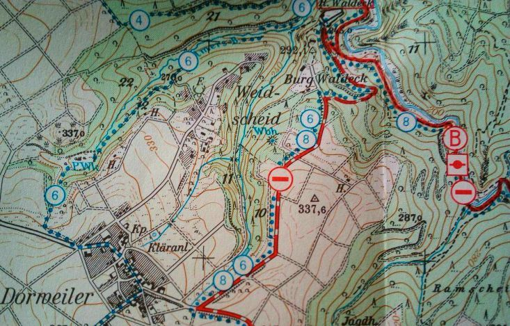 Wege zum Baybach