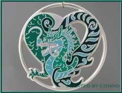 Dragonheart silberseidenmatt