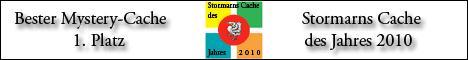 Stormarns Cache des Jahres 2010