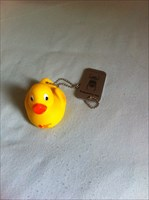 Red cross duckling