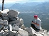 Crowsnest Mountain - Jimmy updating facebook