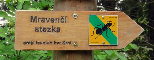 Mravenčí stezka