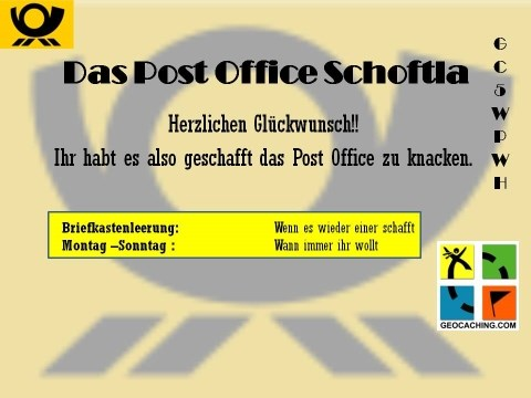 Post Office Schoftla - SC