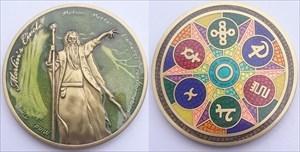 Merlin's Circle Geocoin