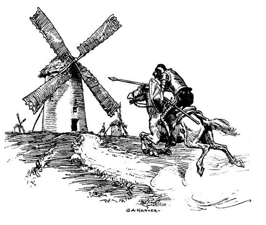 """the many perspective views of the novel don quixote """"[cervantes] is commenting on the various literary genres that were popular  during  """"so you take a look at these genres from a fresh perspective  la  mancha windmills are part of the story of don quixote, spain's most  a view of  an area affected by eruption from fuego volcano in the community of san."""