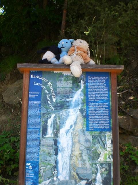 Dusche Wasserfall : Da geht?s lang 20 Jul 13 Nurmalkurz zum Wasserfall wandern