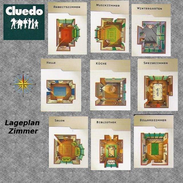 Cluedo Karten