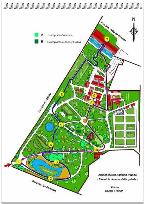 jardim da estrela lisboa mapa GC17VQY Jardim Tropical [Lisboa] (Multi cache) in Lisboa, Portugal  jardim da estrela lisboa mapa