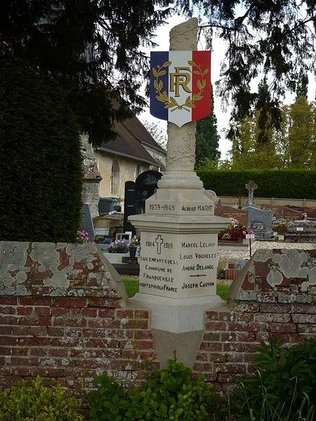 Monument aux morts_Franqueville