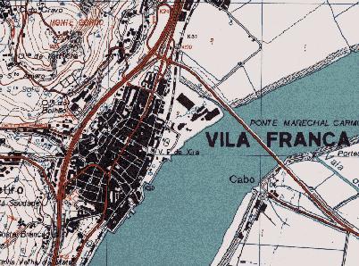 Vila Franca de Xira Map