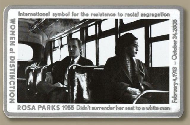 WOD: Rosa Parks Geocoin