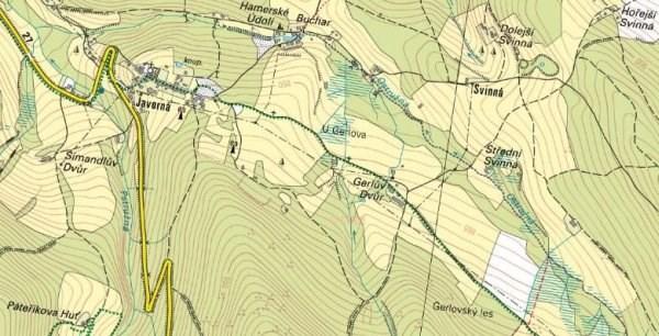 Gerlhof mapa