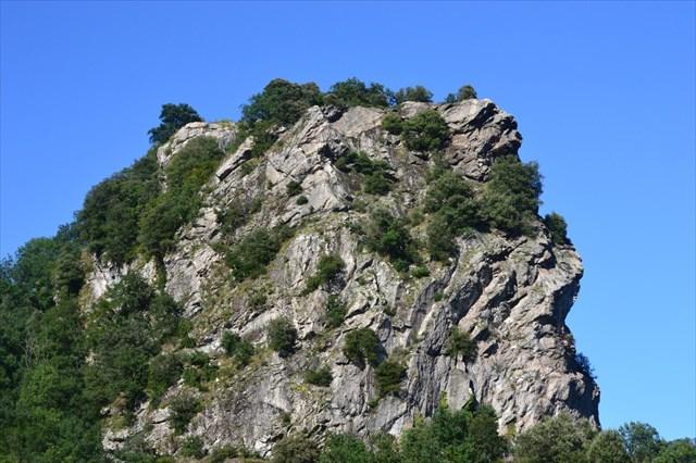 les rochers de Barri