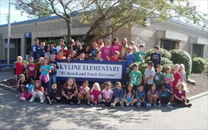 Skyline Elementary Beatles Farewell Party