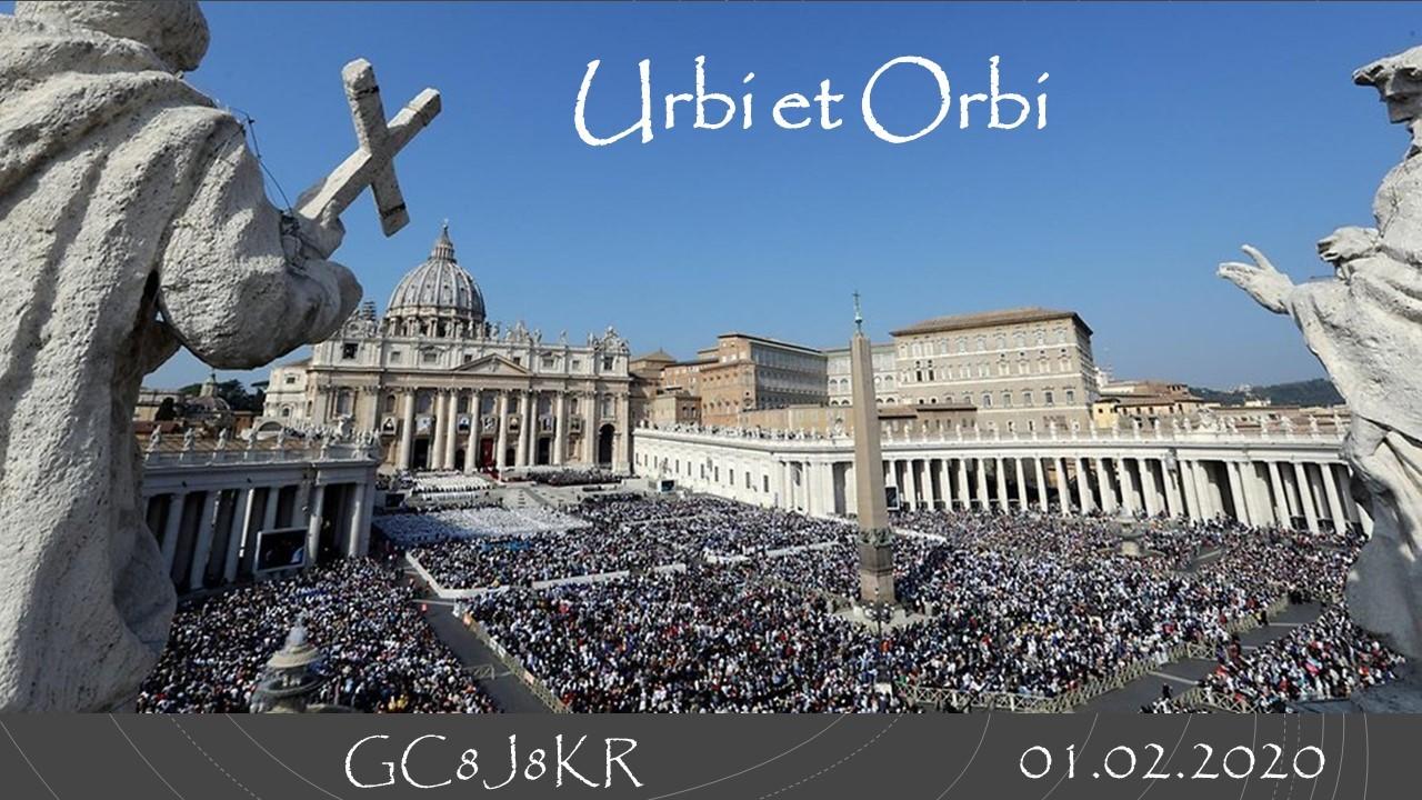 Urbi Et Orbi Bedeutung Deutsch