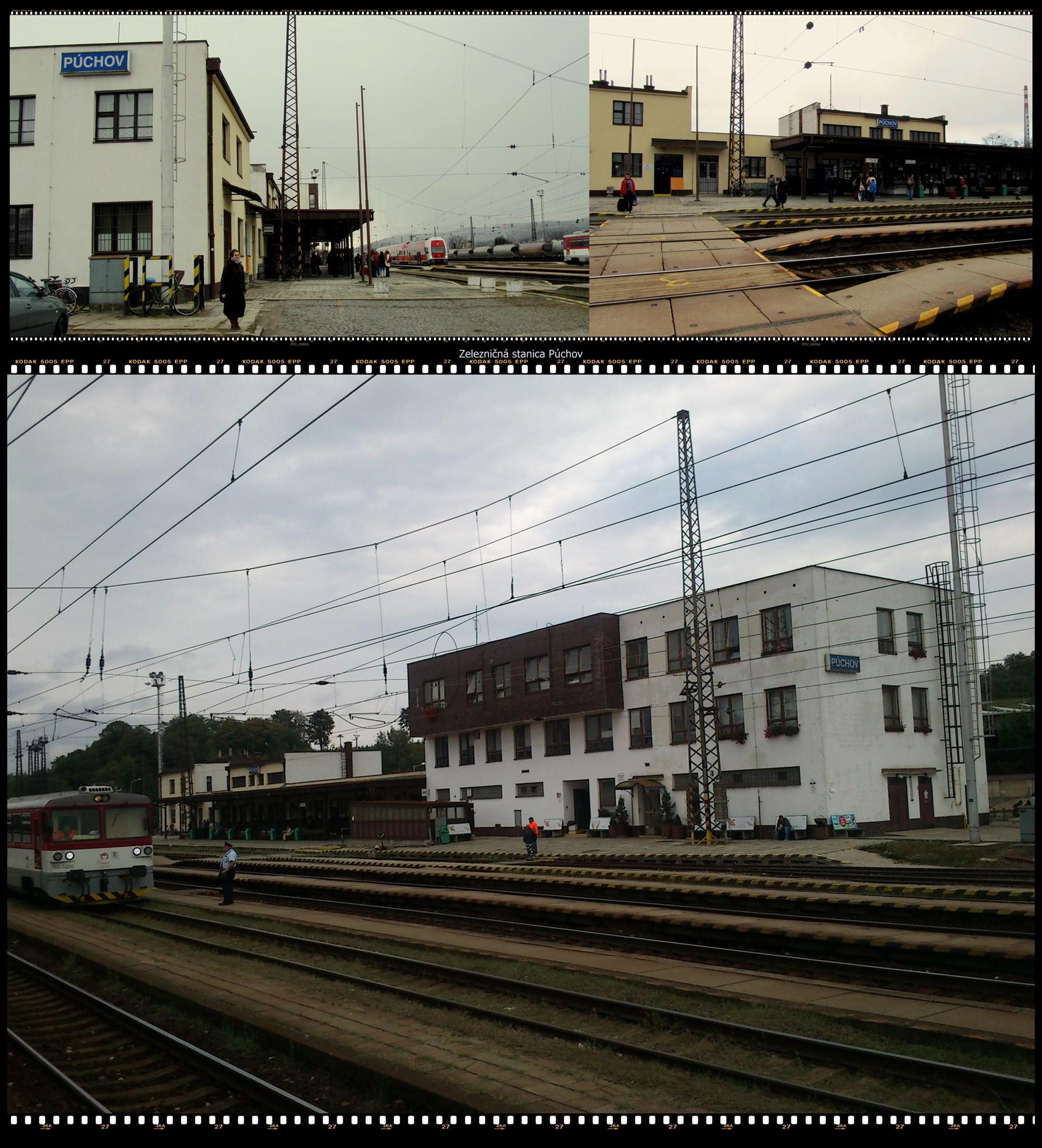 Zeleznicna stanica Puchov