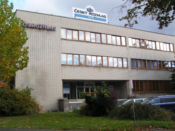 Budova CS Rozhlasu v Plzni - 2009