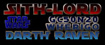 Sith Lord - GC50N20 - Star Wars - Darth Raven