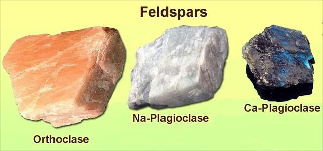 Feldspars group minerals