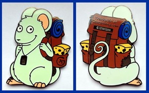 Mouse on Tour Geocoin - Lennard