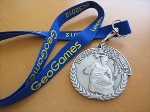 Project GeoGames 2012 - Geocoin