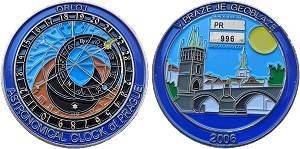 Prague Geocoin