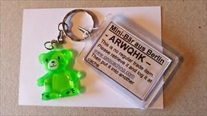 Mini-Bär aus Berlin
