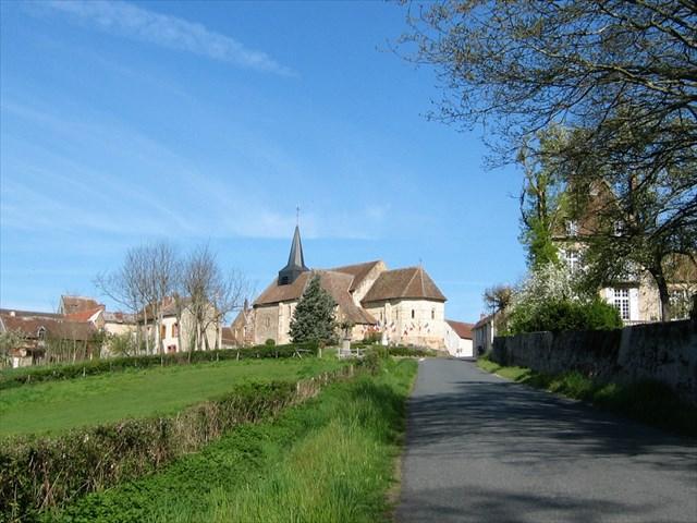 Le village de Santranges