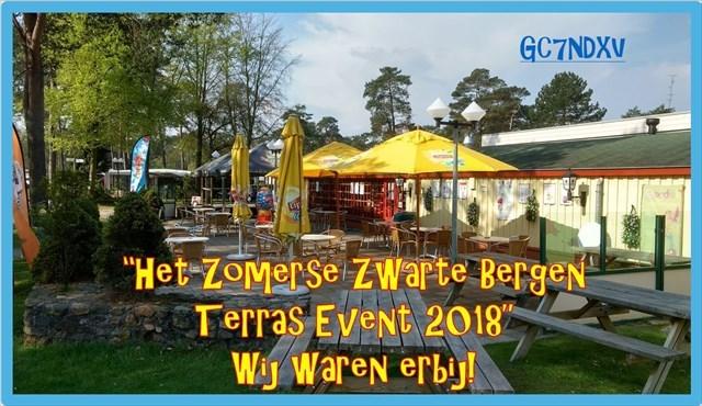 Het Zomerse Zwarte Bergen Terras Event 2018.