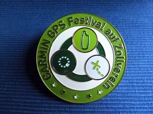 GPS Festival Geocoin