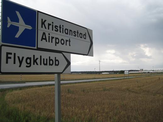 kristianstad airport