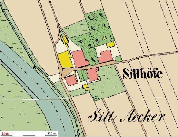 Sillhöfe 1856