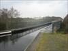 Canal bridge near cache site