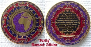 PArity Geocoin - Monarch
