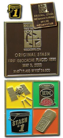 Original Stash Geocoin
