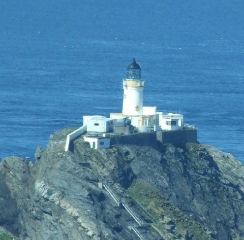 The lighthouse on Muckle Flugga, which is sexy. Hence the cache name :)