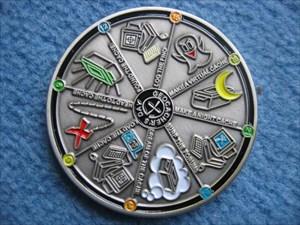 Yanagis Geocacher's Day Coin