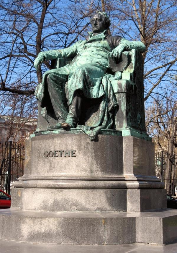 Goethe-Denkmal / Goethe-Monument