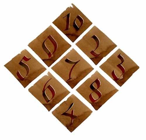 hexeneinmaleins magisches quadrat