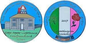 Newfoundland Geocoin