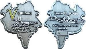 Vogtland Geocoin