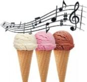 Eis mit Musik