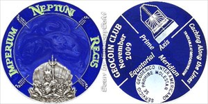 Geocoin Club November 2009 Geocoin