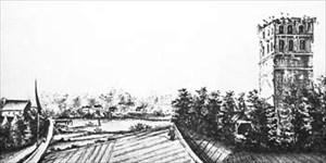 Der Klosterpark damals