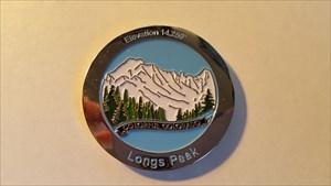 Longs Peak Geocoin