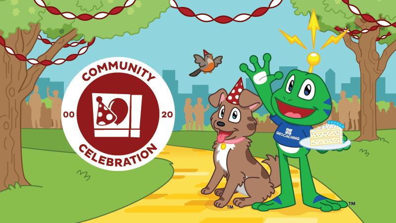 Celebration Event mit Icon