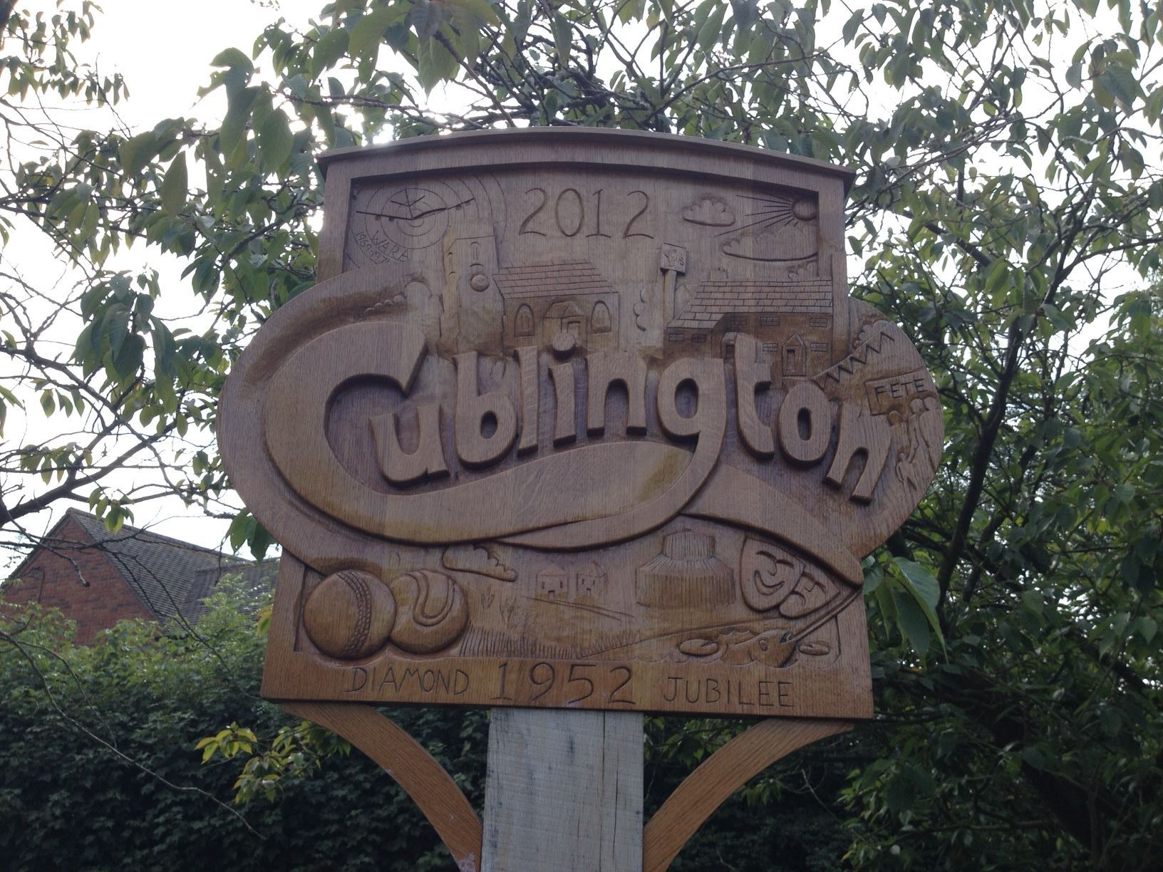 Cublington Village Sign