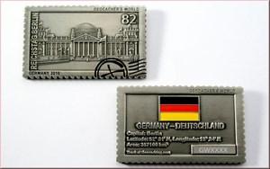 'Berliner Mauer' - German Geocoin