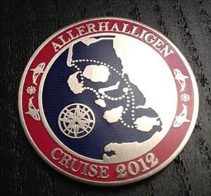 Allerheiligen Cruise 2012 Geocoin