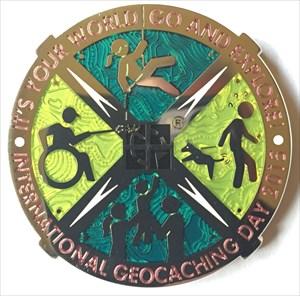 LordT's International GC Day 2015 Geocoin - Front